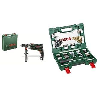 Bosch-DIY-Schlagbohrmaschine-Zusatzhandgriff-Tiefenanschlag-Koffer-900-W-max-Bohr–Holz-40-mm-Beton-18-mm-Stahl-13-mm
