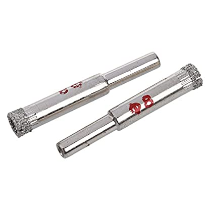 SODIAL-R-8mm-Dia-Diamant-Bohrer-Fliesen-Glas-Lochsaegen-2-Stueck
