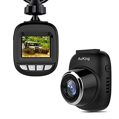 AuKing-DashCam-AutoKamera-Full-HD-1920x1080p-15inch-LCD-Bildschirm-Mini-Dash-Cam-fr-Auto-170-Grad-Winkel-Auto-Dash-Cam-mit-G-Sensor-Loop-Aufnahme-WDR-Motion-Detection
