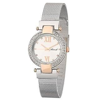 Antoneli-Unisex-Analog-Quarz-Uhr-mit-Edelstahl-Armband-AL0500-01