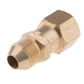 Homyl-Mnnlich-14-to-Weiblich-M14x15-Socket-Messing-Schnellkupplung-fr-Hochdruckreiniger