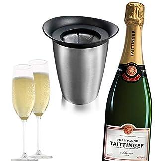 Taittinger-Champagner-verschiedene-hochwertige-Flaschen-im-Geschenkset