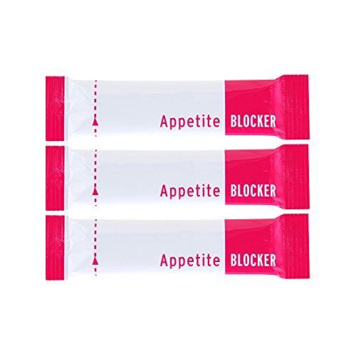 Appetite Blocker – Fatburner und starker Appetitzügler zum abnehmen hochdosiert Glucomannan 3000 mg, Chrom und Jod – preiswerte 15 Tage Diät Kur | 45 Pulver-Sticks