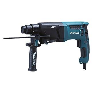 Makita-HR2601-Bohrhammer-fr-SDS-PLUS-Werkzeuge