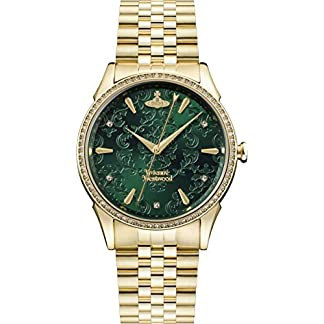 Vivienne-Westwood-Wallace-Green-Dial-Gold-Damenuhr-VV208GDGD
