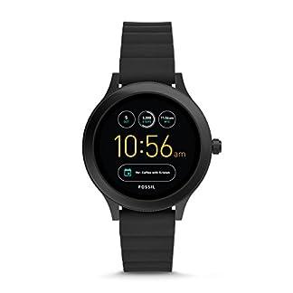 Fossil-Damen-Smartwatch-Q-Venture-3-Generation-Silikon-Schwarz-FTW6009