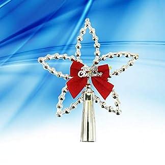 Amosfun-3pcs-Weihnachtsbaum-Stern-Christbaumspitze-Stern-Glitzernde-Baumschmuck-Weihnachtsdeko-silber