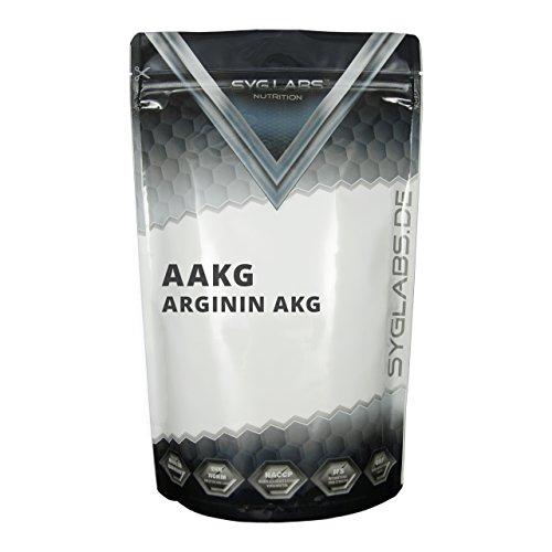 Syglabs Arginin AAKG – Aminosäuren Pulver, 1er Pack (1 x 500 g)
