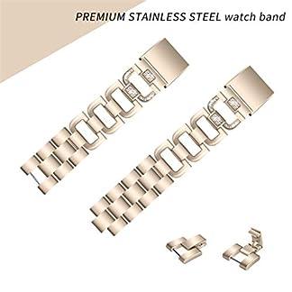 Siswong-Diamant-Edelstahl-Armband-Ersatzband-Bgel-fr-Fitbit-Gebhr-2-Edelstahl-Armband-Fr-Fitbit-Gebhr-2-Watch-Edelstahl