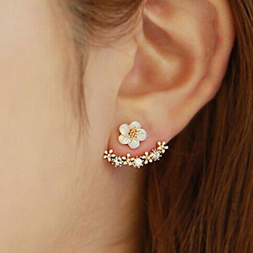 Ohrringe, HUIHUI Ohrstecker Ohrschmuck für Mädchen Damen Kinder Frauen Allergiefrei