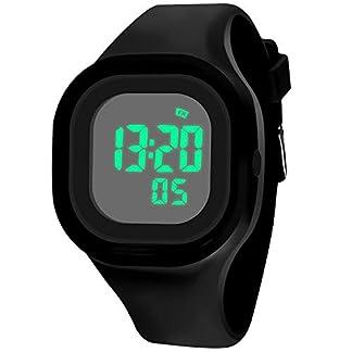 Kinder-Uhren-Kinder-Digital-Wasserdicht-Sport-LED-Militr-Armbanduhren-Elektrische-Alarm-Tag-Calendar-Silikon-Outdoor-Uhren-mit-Stoppuhr-fr-Jungen-Mdchen-Kinder-Schwarz
