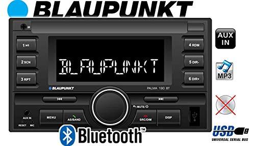Blaupunkt-Palma-190-BT-2DIN-Autoradio-mit-Bluetooth