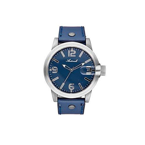 Antoneli-Unisex-Analog-Quarz-Uhr-mit-Leder-Armband-AG1901-10