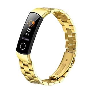 Fr-Huawei-Honor-4-Armband-MuSheng-Mode-Sports-Edelstahl-Strap-Solide-Ersatzarmband-Damen-Herren-Bracelet-Sport-Band-Strap-Wristband-fr-Huawei-Honor-4