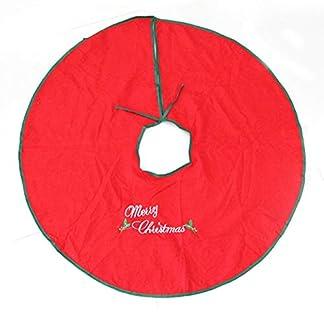CHENZHAOL-Baumrock-90cm-Schneemann-Baum-Rock-Weihnachtsbaum-Kleid-Weihnachtsbaum-Dekoration-Weihnachtsartikel-Weihnachtsschmuck