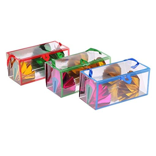 Gazechimp-Magic-Zaubertricks-Papiertte-und-Leerer-Kasten-Set-Papiertte-Vermehren