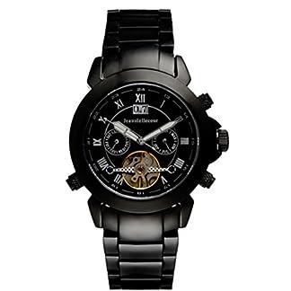 Jean-Bellecour-Herren-Analog-Quarz-Uhr-mit-Edelstahl-Armband-REDS3