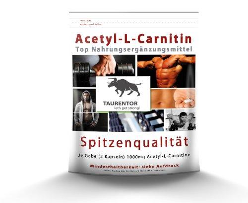 Acetyl L Carnitine Fatburner abnehmen – 250 Tabletten Stärkste L-Carnitine Form extrem hochdosiert – Garantiert Glutenfrei