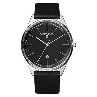 Orphelia-Herren-Armbanduhr-Simplicity-Analog-Quarz-Leder