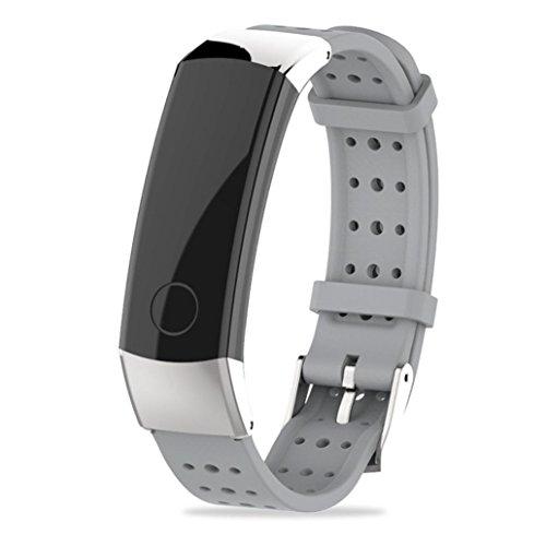 Uhrenarmbnder-Mit-Werkzeug-fr-Huawei-Honor-3-VNEIRW-Silikon-Ersatz-Watchband-Strap-Amazfit-Armband-Ersatzarmband-Uhrenband-Uhrenarmband