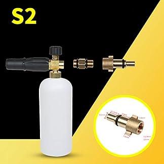 Creative-Foam-Lance-Hochdruckreiniger-Seifenpistole-Fr-Karcher-Bosch-Lavor-Nilfisk-Essential-Accessories-Wei