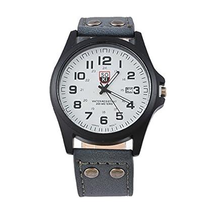 Souarts-Herren-Kunstleder-Kalender-Armbanduhr-Quartzuhr-Uhr-mit-Batterie