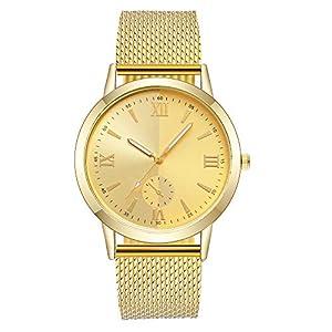 Silikonband-Uhren-Damen-Damen-Armband-Unisex-Dial-Analoge-Quarz-Armbanduhr-Javpoo