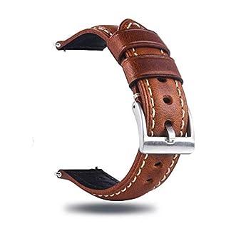 Berfine-Quick-Release-Rindsleder-Uhrenarmband-Vintage-Retro-Pull-Up-Leder-Uhrenband-mit-Schnalle-aus-Edelstahl-Ersatzarmband-fr-Damen-Herren-Uhr-und-Smartwatch-Bandbreite-18mm-20mm-22mm-24mm-26mm