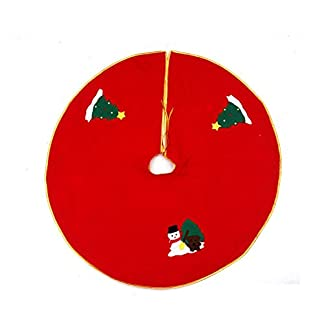 Amphia-Baumdecke-Weihnachtsbaum-RockChristbaumdecke-Weihnachtsbaumdecke-Christbaumstnder-Teppich-Decke-Weihnachtsbaum-Deko-Weihnachtsdeko-Baumrock-Schneeflocke-Baum-Rock-Durchmesser90cm