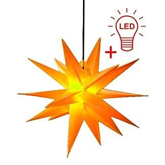 Steinfigurenwelt-Giessen-LED-WEIHNACHTSSTERN-3D-XXL-18-Zacken-100-cm-INKL-LED-Leuchtmittel-Faltstern-Auenstern-Adventsstern-wetterfest-fr-auen-und-innen-4m-Kabel-von-Dekowelt