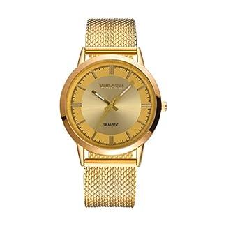 Armbanduhr-erthome-Modische-hohe-Hrte-Glasspiegel-Mnner-Frauen-allgemeine-Mesh-Grtel-Uhr-Muttertag-Geschenk