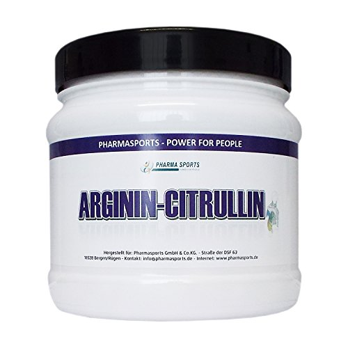 L-ARGININ-CITRULLIN 4400 mg Hochdosiert 240 Kapseln – 2 bis 4 Monatskur deutsches Qualitätsprodukt