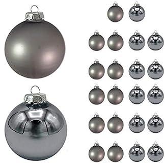 24-TLG-Weihnachtskugeln-Weihnachtsbaumkugeln-Weihnachtskugeln-Glaskugeln-Silber-Baumschmuck-8cm-Christbaumkugeln-aus-Glas-glnzend-und-Matt