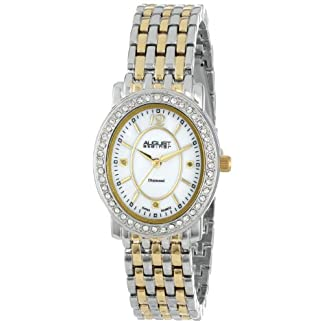 August-steiner-Damen-Armbanduhr-Dazzling-Diamond-Analog-Quarz-AS8043TTG