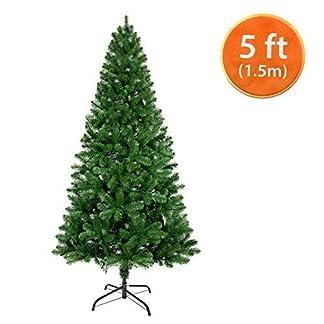 ANSIO-Weihnachtsbaum-knstliche-Weihnachtsbume-Metallstnder-100-Virgin-feuerhemmende-PVC-Tipps