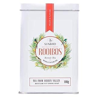 Sunbird-Rooibos-Hidden-Valley-Rooibos-Nature-Loser-Vollblatt-Tee-Zertifiziert-Bio-Reich-an-Antioxidantien-Koffeinfrei-Entspannend-Entgiftend-Gesunder-Tee-100-g