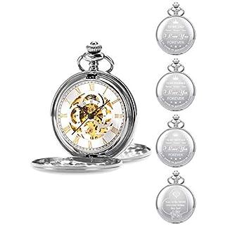 ManChDa-Personalisierte-Gravierte-Taschenuhr-Mechanische-Fobwatch-Harry-Potter-Kommunion-Taschenuhr-Geschenk-Geschenk-Fr-Vater-Ehemann-Sohn-Abschluss-Geschenk-Groomsman-Hochzeitsgeschenk