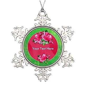 VINMEA-Baumschmuck-Luau-Aloha-Pink-Hibiskus-s-Einzigartige-Christbaumspitze