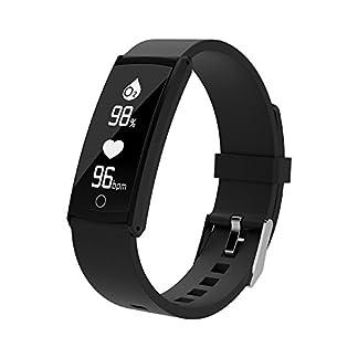 Yumimi88-Fitness-TrackerWasserdicht-Fitness-Armband-mit-Pulsmesser-Zoll-Farbbildschirm-Smartwatch-Aktivittstracker-Pulsuhren-Schrittzaehler-Uhr-Smart-Watch-Fitness-Uhr-fr-Damen-Herren