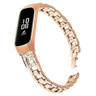 Comcase-Metallarmband-Armband-Edelstahl-Uhrenarmband-Ersatz-fr-Galaxy-Fite-SM-R375-Metall