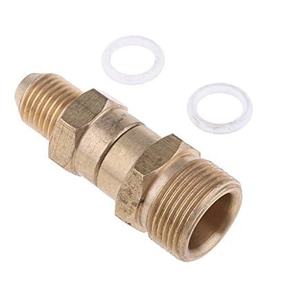 Homyl-Mnnlich-M22mm-12-zu-Mnnlich-M14-14-Messing-Schnellkupplung-fr-Hochdruckreiniger