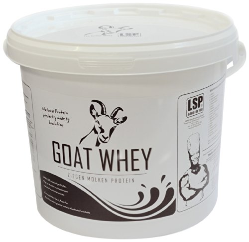 LSP Goat Whey (Ziegen Molken Protein) Cookies and Cream, 1er Pack (1 x 2.5 kg)
