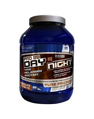 First-Class Nutrition PRO88 Day und Night Protein Chocolate – 8 Stunden mit langsamer Freisetzung, hochwertiges eiweiss, 1er Pack (1 x 2 kg)