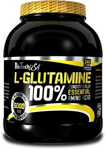 Biotech USA 100% L-Glutamin – 240g Dose