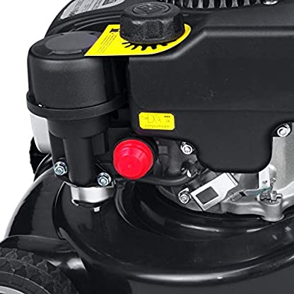 BRAST-Benzin-Rasenmher-25kW-34PS-40cm-Schnittbreite-40L-Fangkorb-ohne-Radantrieb-132ccm-4-Takt-Motor-TV-SD