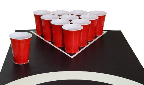 Beer-Pong-Tisch-Matten-Set-Audio-Table-Design-inkl-50-Red-Cups-6-Beer-Pong-Blle-und-Regelwerk