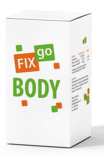 FIXgo Body | Gewichtsverlust + Energie-Stoffwechsel / 90 Kapseln