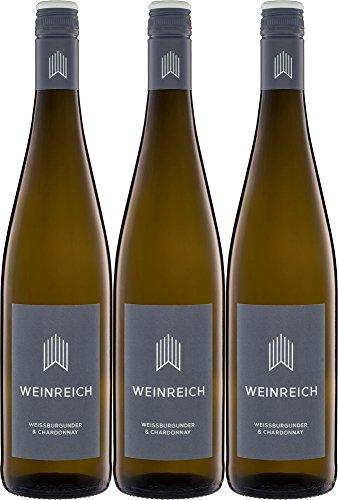 Weinreich-Weissburgunder-Chardonnay-2017-Trocken-Bio-3-x-075-l