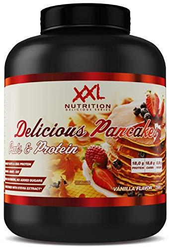 XXL Nutrition Delicious Pancakes | Protein Pancakes Mit Hafer und Ei-Eiweiß | Original Pancake 2500g