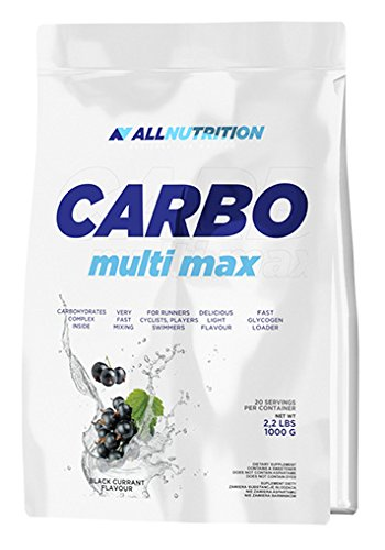 ALLNUTRITION Carbo Multi Max Kohlenhydrat Komplex Kraftsport Training Sport Bodybuilding (1000 g Cherry – Kirsche)